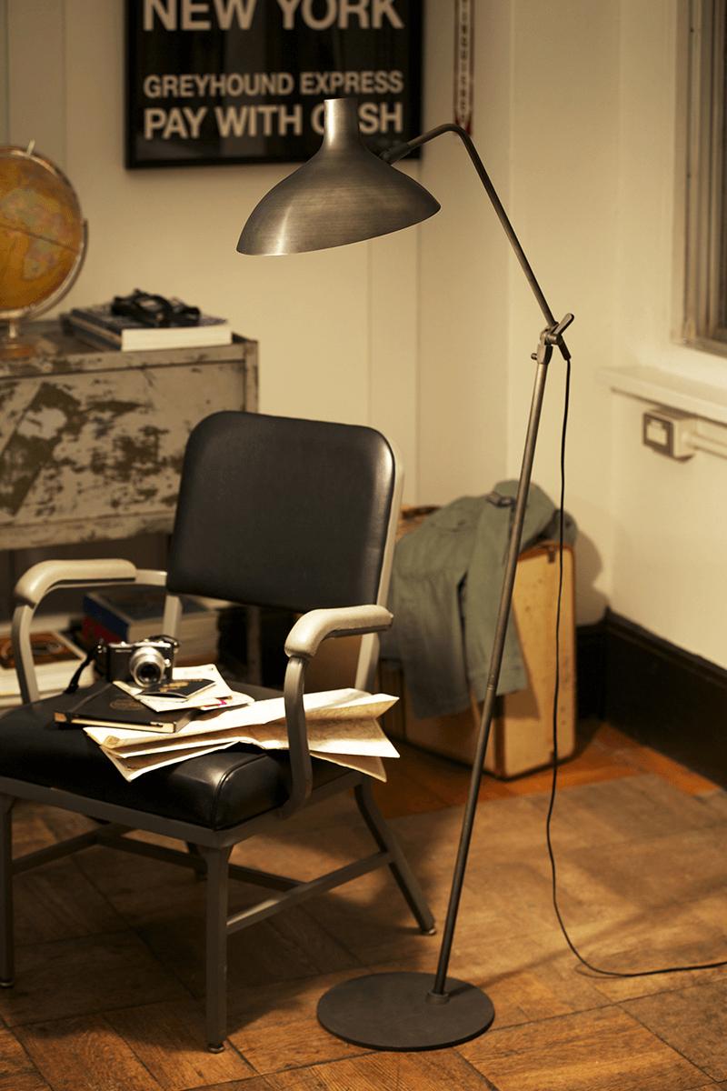 Jigsaw-floor lamp