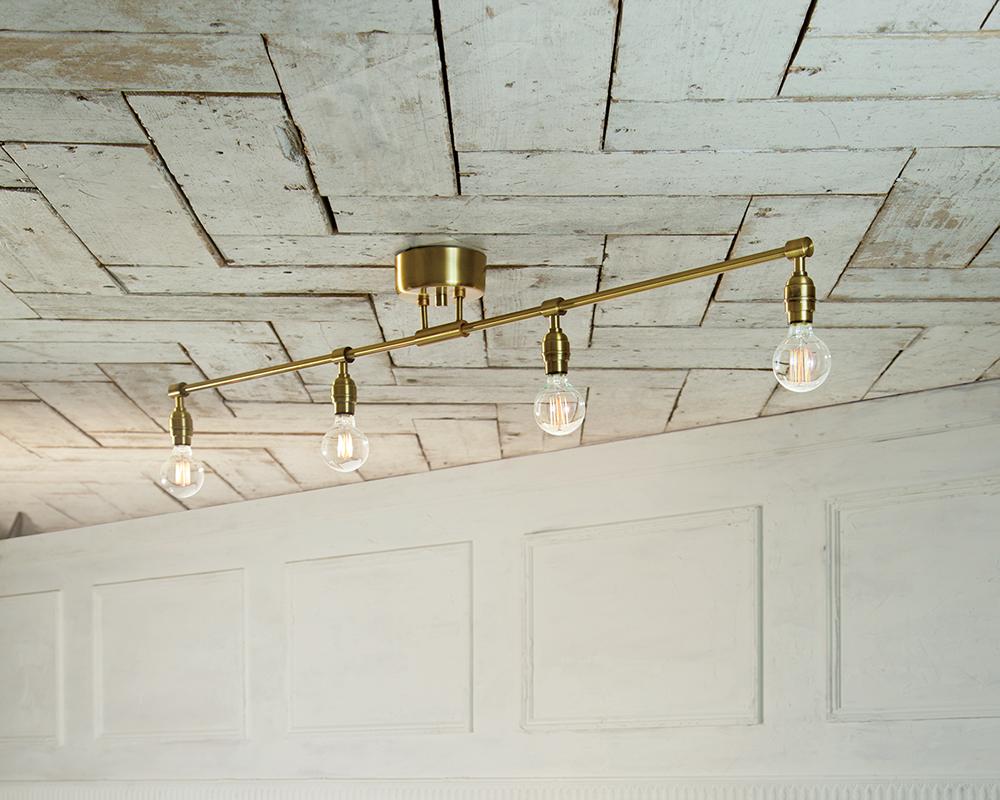 Laiton 4-ceiling lamp
