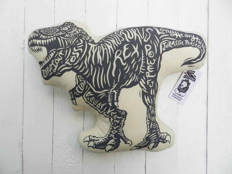 オーガニック・クッション ディノ/恐竜(大)イメージ