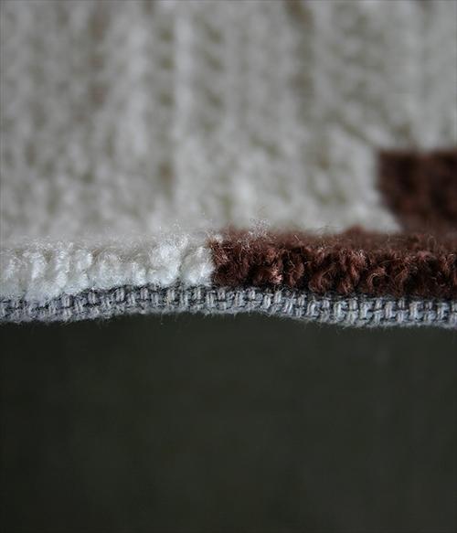 ARTWORK STUDIO TR-4239-WH 「Native rug(ネイティブラグ)」Cross(クロス柄)Lサイズ (ホワイト) 画像2