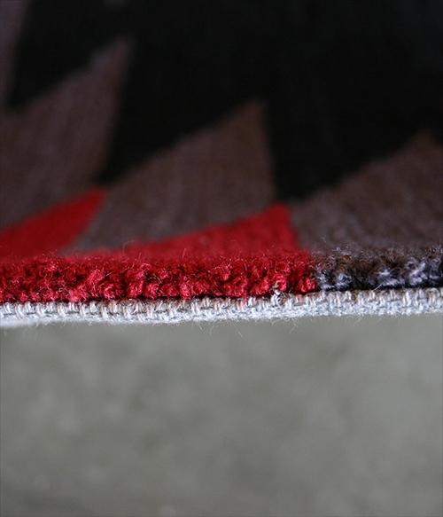 ARTWORK STUDIO TR-4282BK  「Native rug(ネイティブラグ)」Ganado(ガナード柄)Mサイズ (ブラック) 画像2
