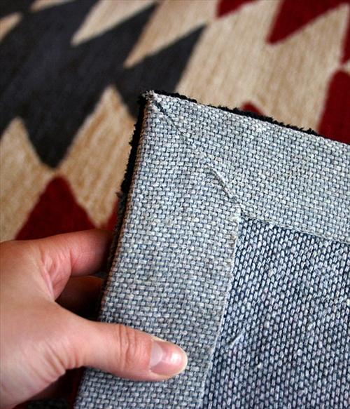 ARTWORK STUDIO TR-4282BK  「Native rug(ネイティブラグ)」Ganado(ガナード柄)Mサイズ (ブラック) 画像3