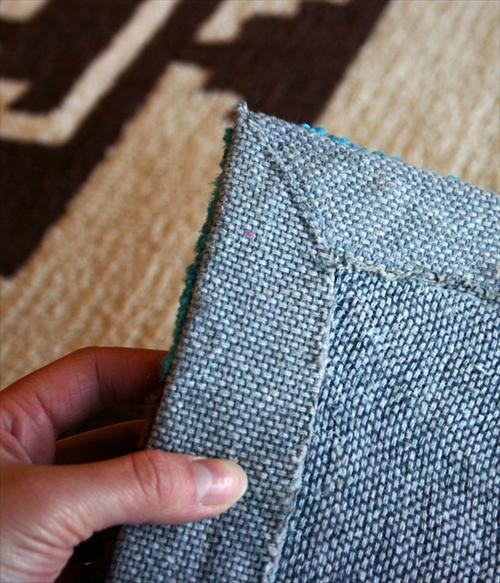 ARTWORK STUDIO TR-4279RD 「Native rug(ネイティブラグ)」Hills(ヒルズ柄)Sサイズ (レッド) 画像3