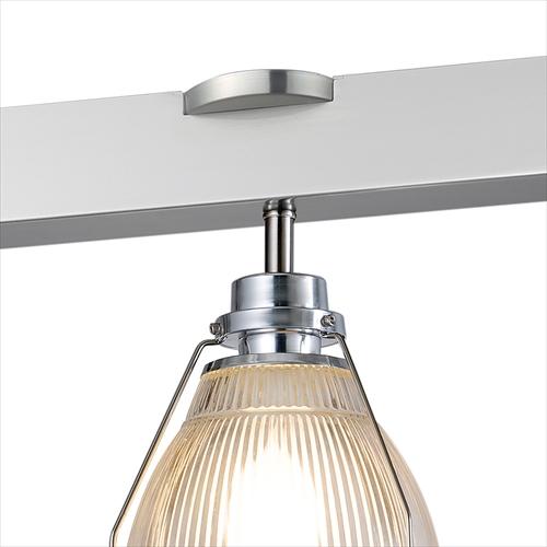 ARTWORK STUDIO AW-0410Z-AL Bishop 3-remote ceiling lamp (ビショップ3リモートシーリングランプ) アルミ 画像2