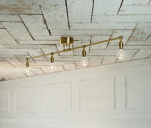 ARTWORK STUDIO AW-0460Z-GD Laiton 4-ceiling lamp (レイトン4シーリングランプ) ゴールド 画像1