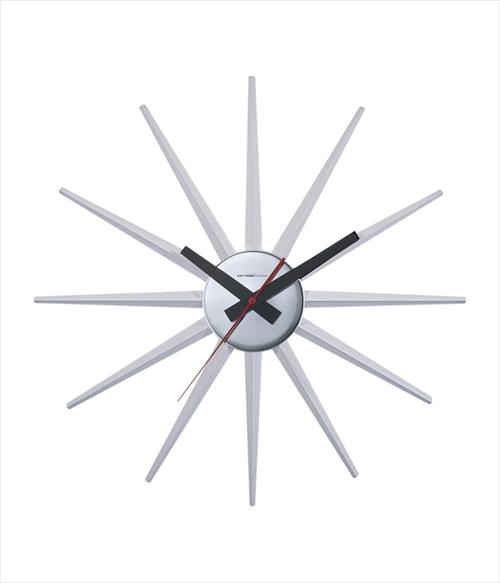 ARTWORK STUDIO TK-2074WH 「Atras 2-clock (アトラス2クロック)」  (ホワイト) 画像1