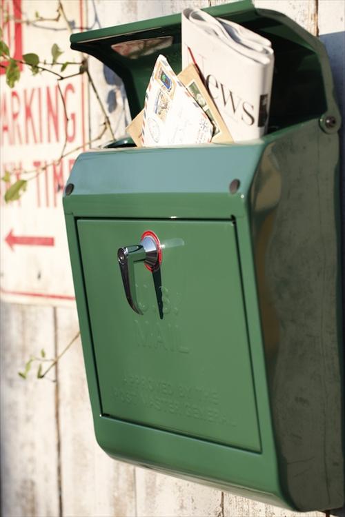 ARTWORK STUDIO TK-2075-GN Mail box (メールボックス) グリーン 画像2