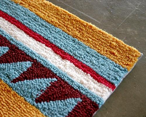 ARTWORK STUDIO TR-4280OR 「Native rug(ネイティブラグ)」Chimayo(チマヨ柄)Mサイズ (オレンジ) 画像1