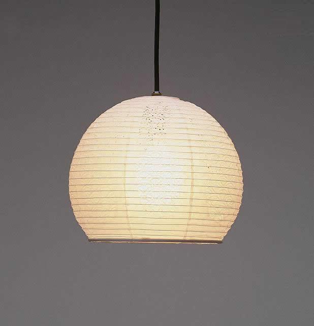 林工芸 TP-1051 林工芸 TP-1051(LED) 和紙ペンダント/レース和紙 青海波 窓灯りシリーズ 画像1