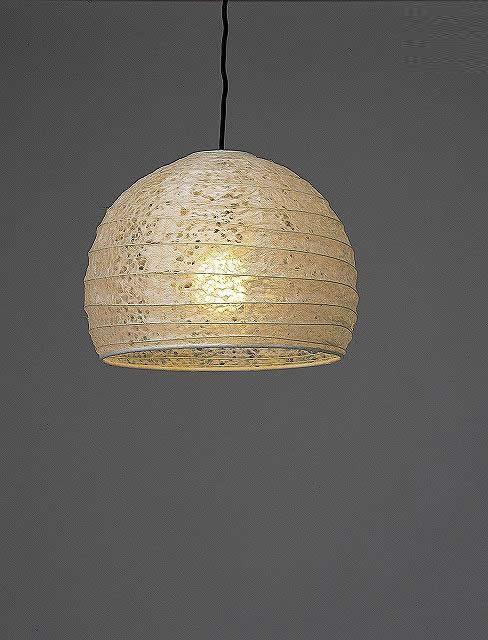 林工芸 TP-1088 林工芸 TP-1088(LED2) 和紙ペンダント/アート和紙ペンダント 画像1