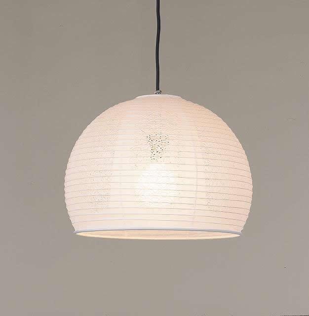 林工芸 TP-1151 林工芸 TP-1151(LED) 和紙ペンダント/レース和紙 青海波 窓灯りシリーズ 画像1