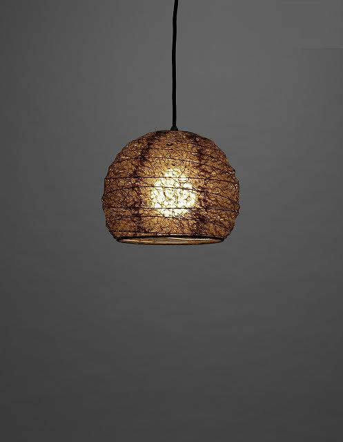林工芸 TP-1189 林工芸 TP-1189(LED) 和紙ペンダント/アート和紙ペンダント 画像1