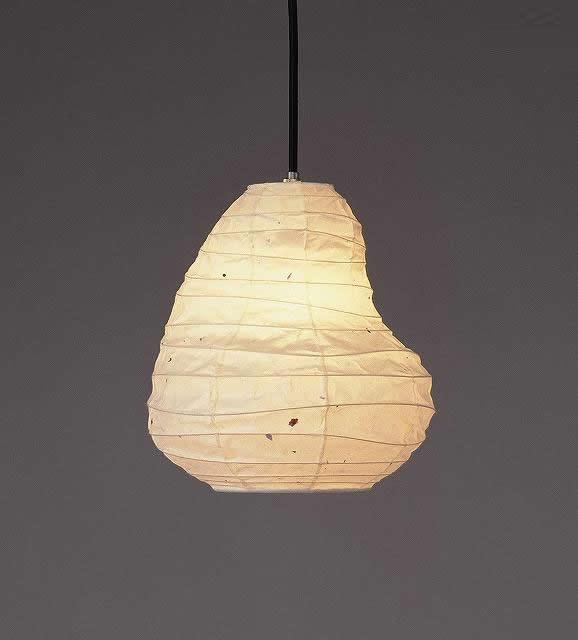 林工芸 TP-142 林工芸 TP-142(LED) 和紙ペンダント/BEANS 画像1