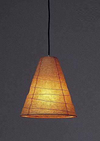 林工芸 TP-331 林工芸 TP-331(LED) 和紙ペンダント/久山一枝 揉み和紙 画像1