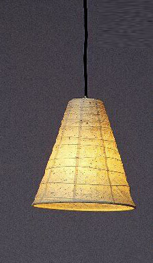 林工芸 TP-332 林工芸 TP-332(LED) 和紙ペンダント/久山一枝 揉み和紙 画像1