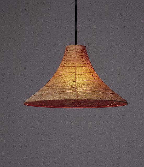 林工芸 TP-421 林工芸 TP-421(LED) 和紙ペンダント/久山一枝 揉み和紙 画像1