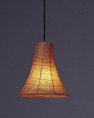 林工芸 TP-431 林工芸 TP-431(LED) 和紙ペンダント/久山一枝 揉み和紙 画像1
