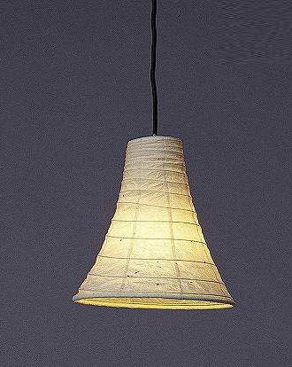 林工芸 TP-432 林工芸 TP-432(LED) 和紙ペンダント/久山一枝 揉み和紙 画像1