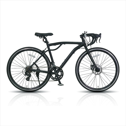 WACHSEN BAR-700-BK 700Cアルミロードバイク14段変速 Drohung 画像1