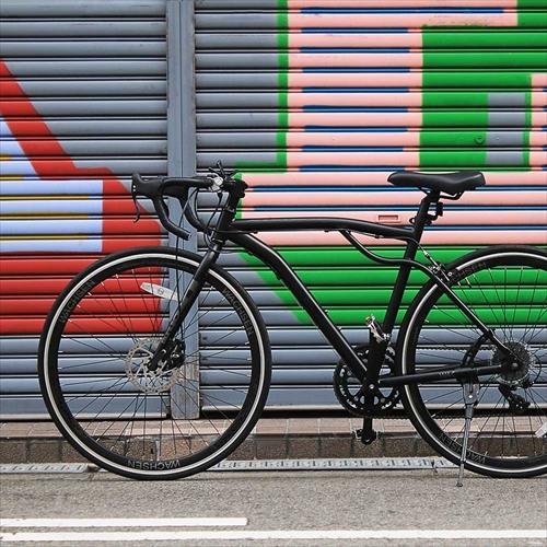 WACHSEN BAR-700-BK 700Cアルミロードバイク14段変速 Drohung 画像8