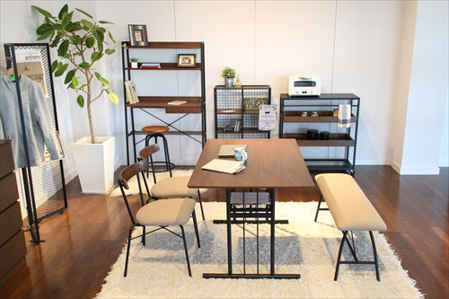ANT-2832BR anthem Dining Table M 画像16