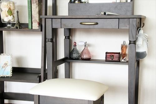 INM-2822DGY ine reno dresser & stool 画像25