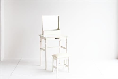 INM-2822WH ine reno dresser & stool 画像1