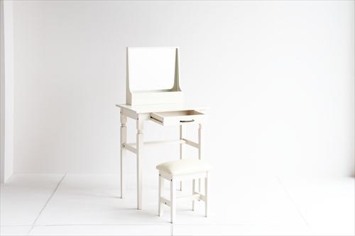 INM-2822WH ine reno dresser & stool 画像2