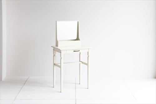 INM-2822WH ine reno dresser & stool 画像3