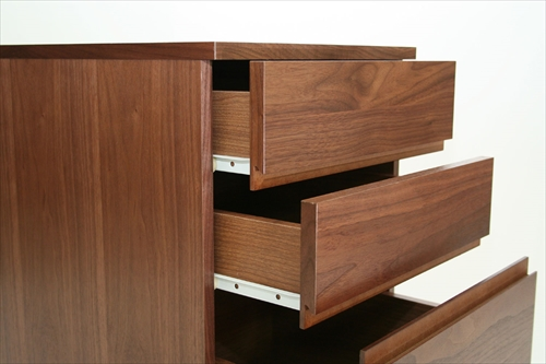 K-2315BR Walnut Chest 画像5
