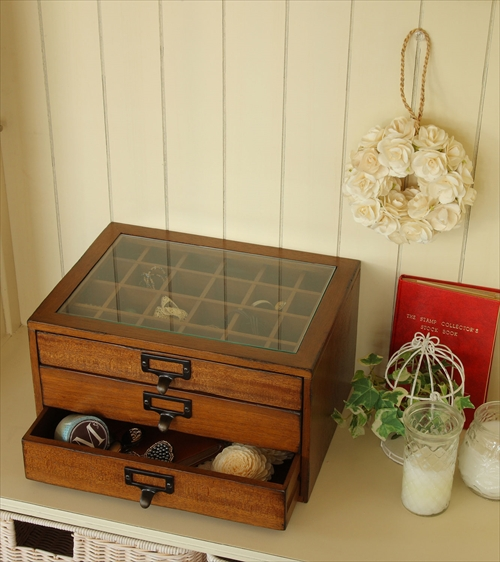 MOK-2523BR mope collection chest 画像10