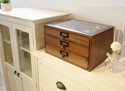 MOK-2523BR mope collection chest 画像1