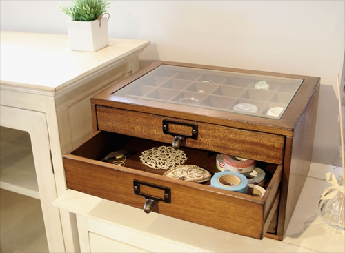 MOK-2523BR mope collection chest 画像2