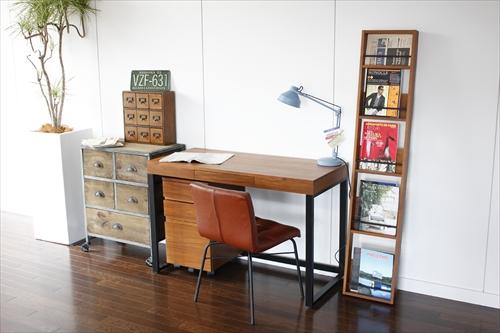 T-2314BR Walnut Desk 画像7