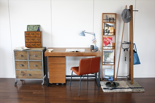 T-2314BR Walnut Desk 画像8