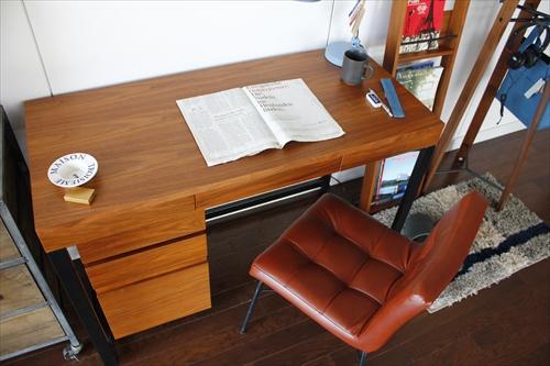 T-2314BR Walnut Desk 画像12