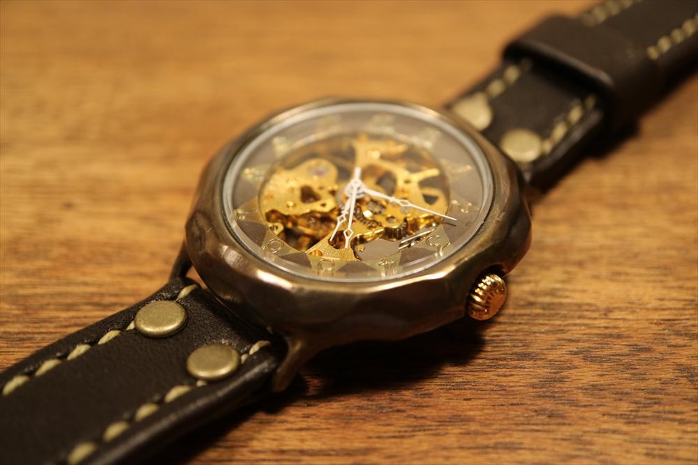 LEO CRAFT HWH-DW611 ハンドメイド 手作り腕時計 画像3