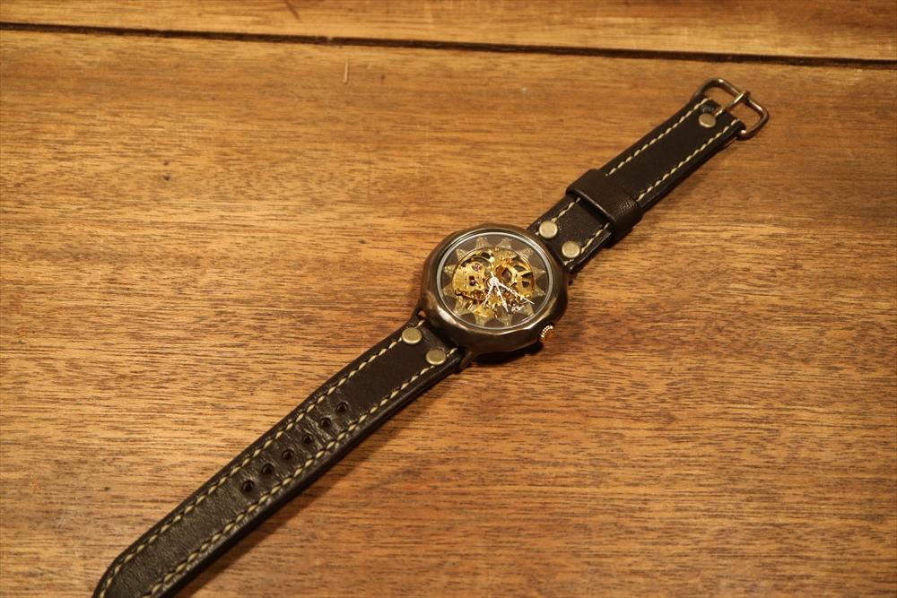 LEO CRAFT HWH-DW611 ハンドメイド 手作り腕時計 画像5