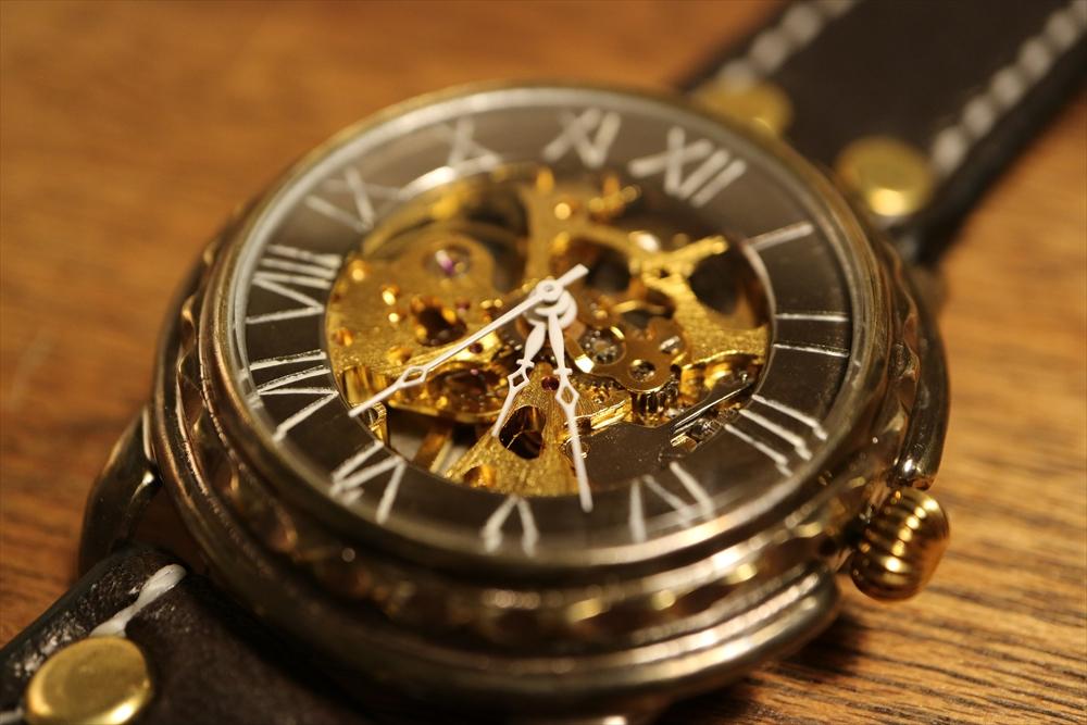 LEO CRAFT HWH-WR631 ハンドメイド 手作り腕時計 画像5