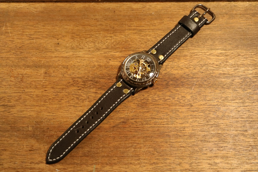 LEO CRAFT HWH-WR631 ハンドメイド 手作り腕時計 画像9