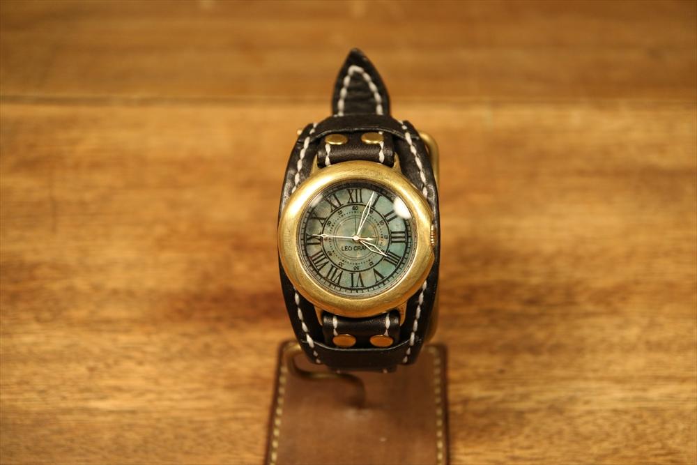LEO CRAFT SB-DN122(D) ハンドメイド 手作り腕時計 画像2