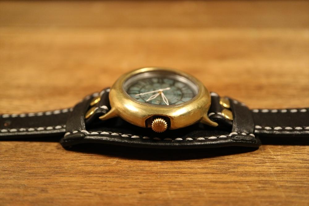 LEO CRAFT SB-DN122(D) ハンドメイド 手作り腕時計 画像9