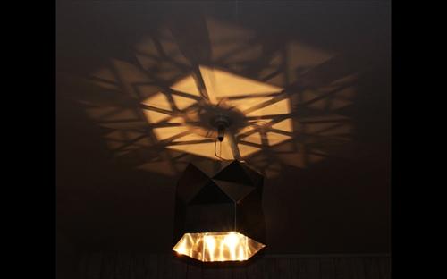 三代目板金屋 hexagon-p hexagon ペンダントライト 画像1