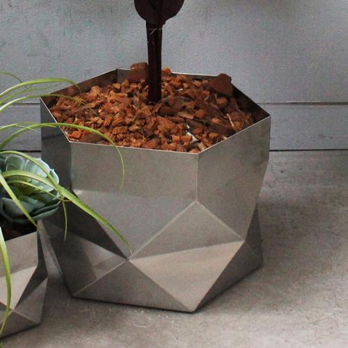 三代目板金屋 hexagon-bowl hexagon 鉢カバー 大 画像3