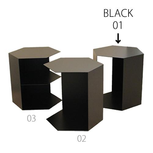 三代目板金屋 honeycomb-01-bk honeycomb 交互開放型 スチール製 画像3