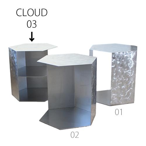 三代目板金屋 honeycomb-03-cl honeycomb 前面開放型(棚板付き) ステンレス製 画像1