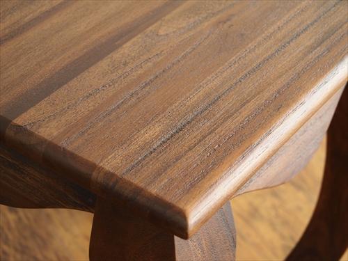 サンフラワーラタン T602KA チーク サイドテーブル 画像3